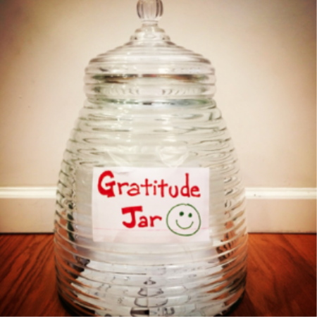 Year 8 create gratitude jars